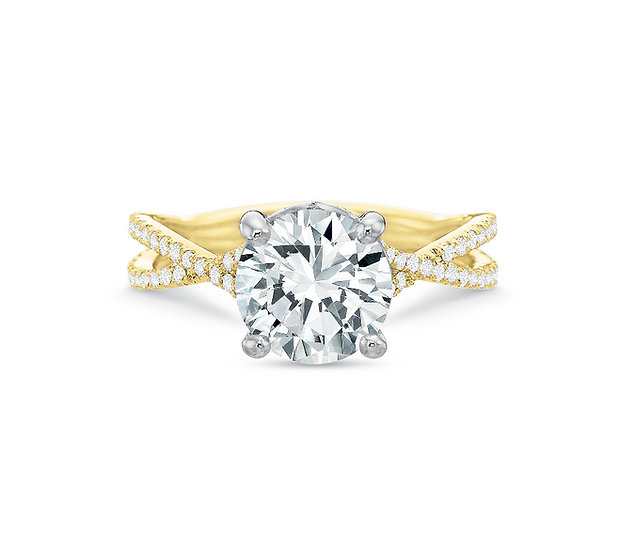 Aria Diamond Engagement Ring Setting