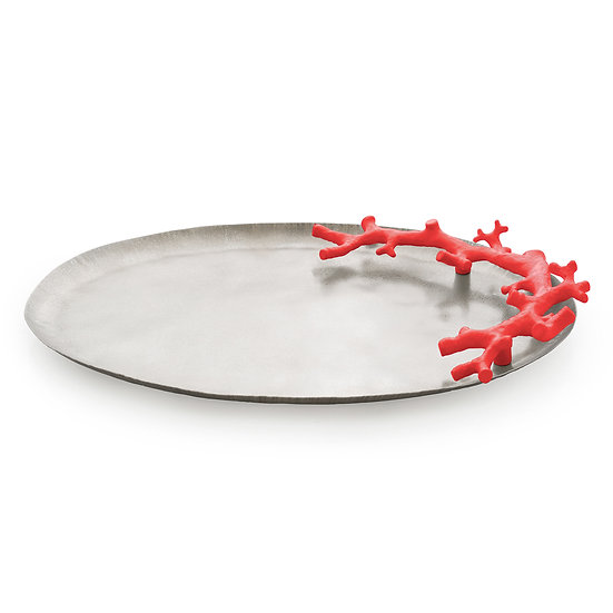 Ocean Reef Large Platter Red