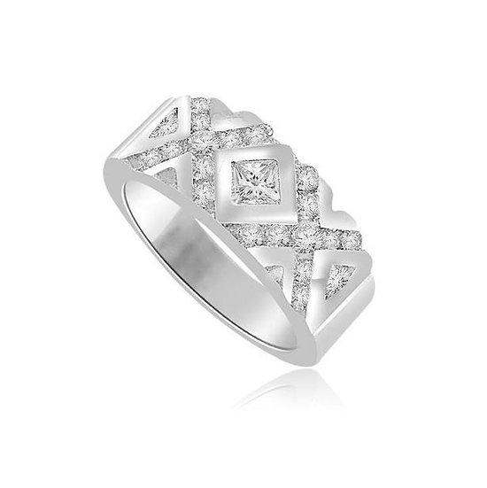 Diamond XO Ring