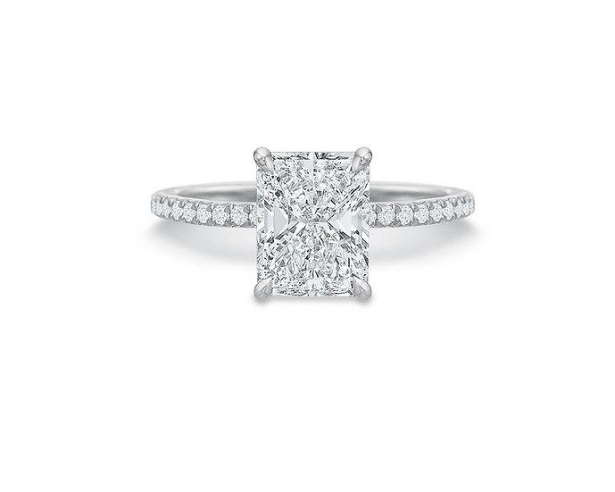 Desiree Radiant Engagement Ring Setting