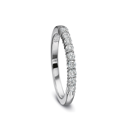 Share Prong Diamond Wedding Ring