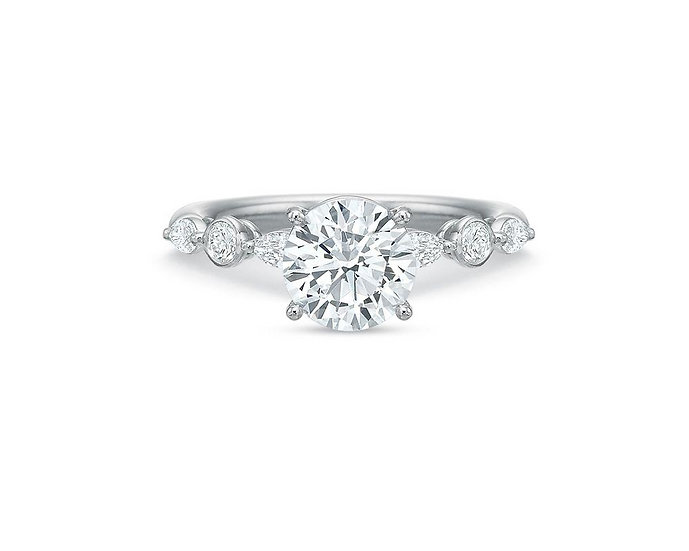 Silhouette Engagement Ring Setting