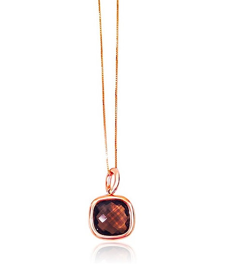 Chocolate Topaz Necklace