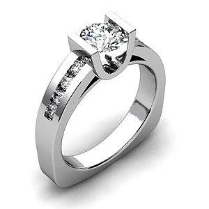 Tension Diamond Engagement Ring Setting
