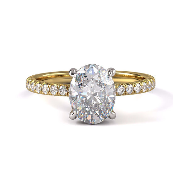 Desiree Diamond Prong Engagement Ring Setting