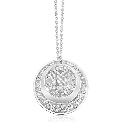 Circle Medallion Necklace
