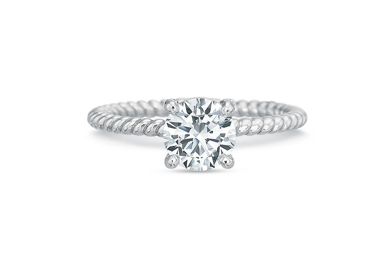 Ballerina Diamond Engagement Ring Setting