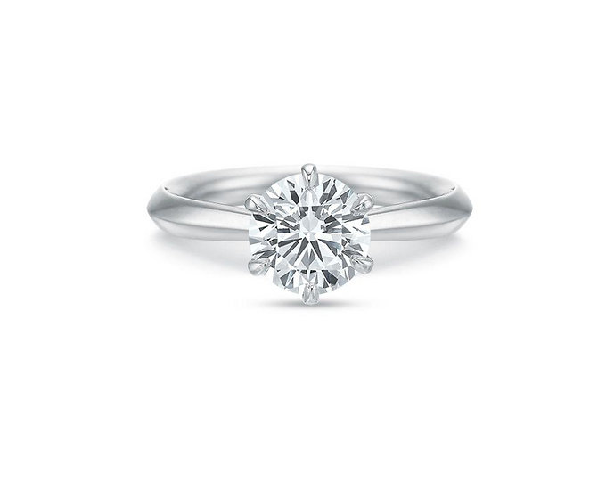 Desiree Six Prong Engagement Ring Setting