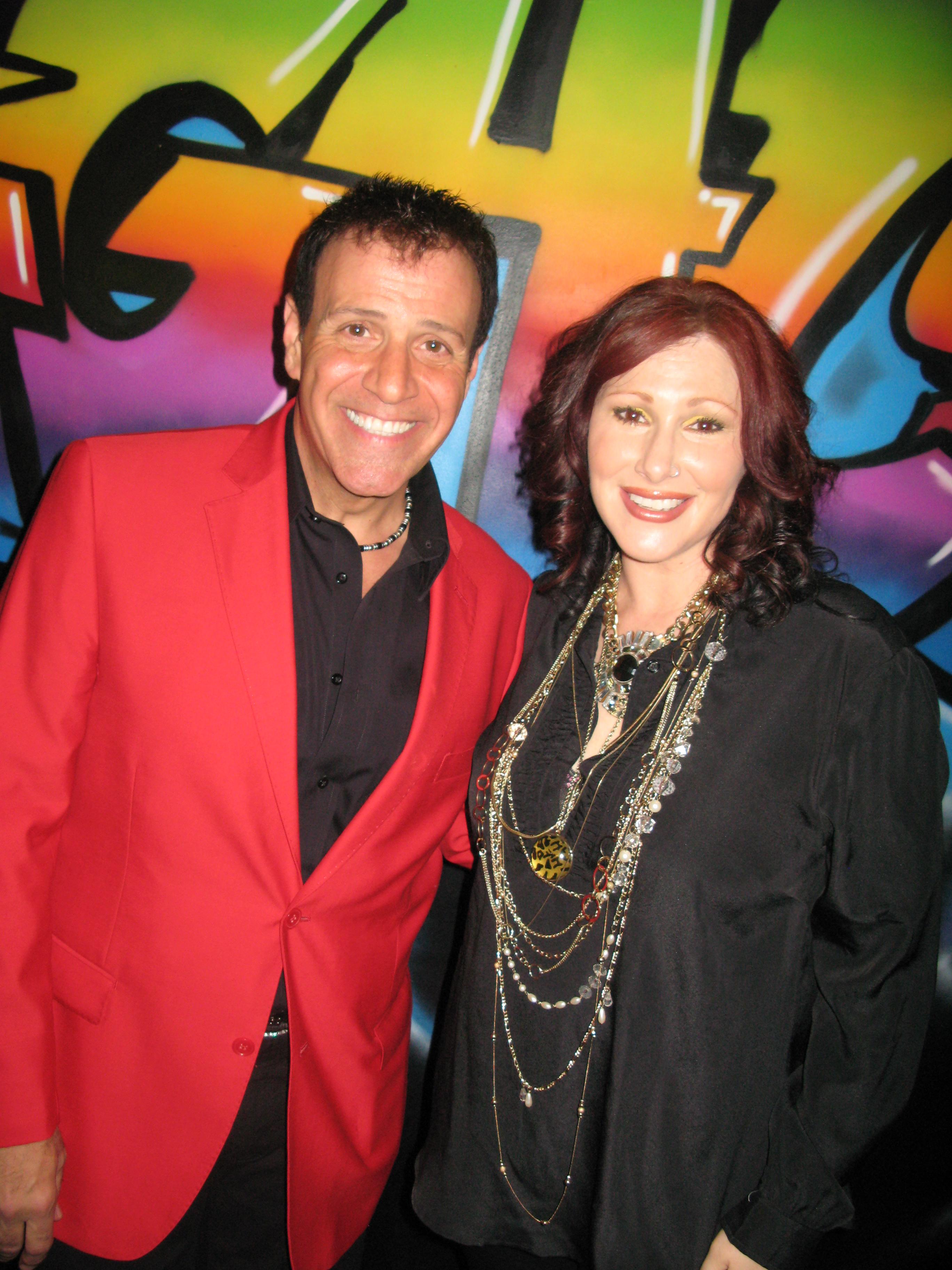 With 70's pop star Tiffany