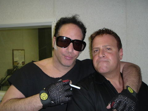 During Radio show w/Andrew Dice Clay