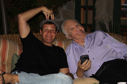 Stephen and Chuck McCan