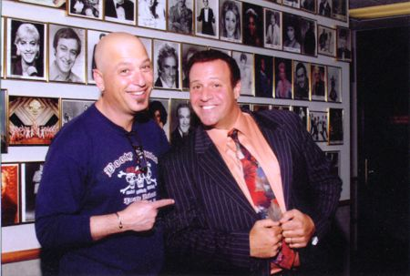 Stephen with Howie Mandel