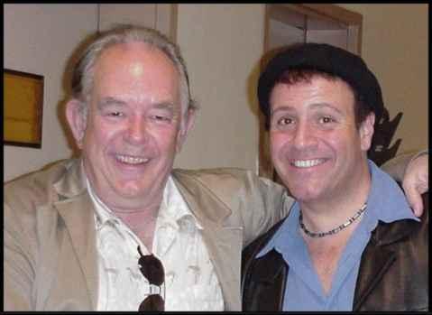 Stephen with buddy Robin Leach