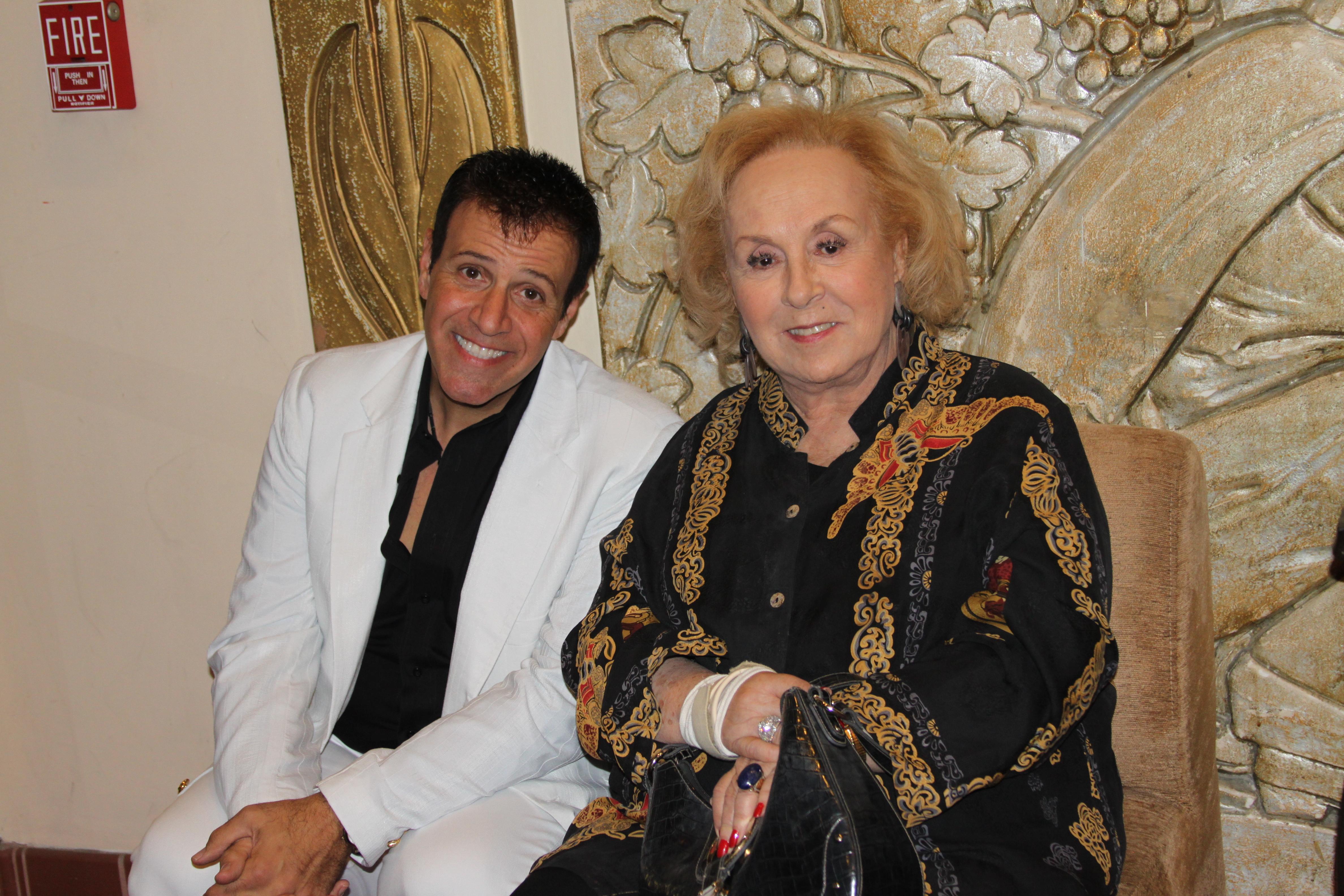 Stephen Sorrentino and Doris Roberts