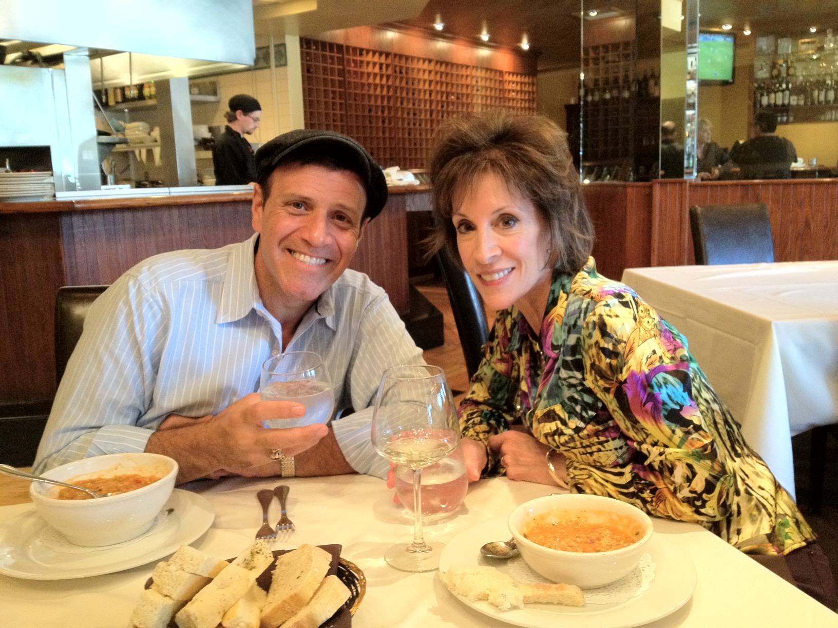 Stephen with Deana Martin