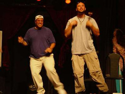 Chris Judd Choreographing Stephen