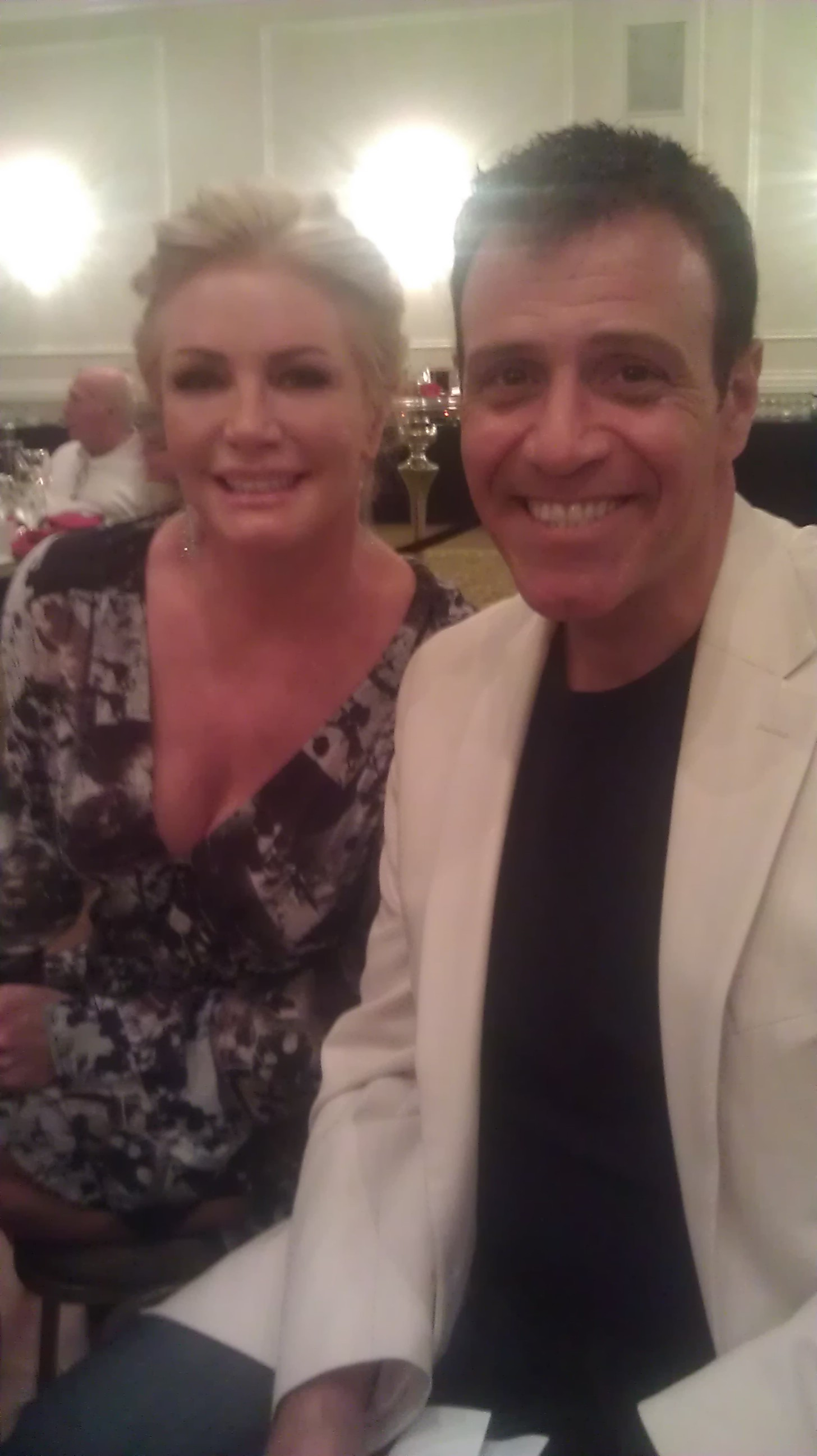 Shannon Tweed and Stephen