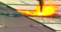 flame resistant aluminum shingles
