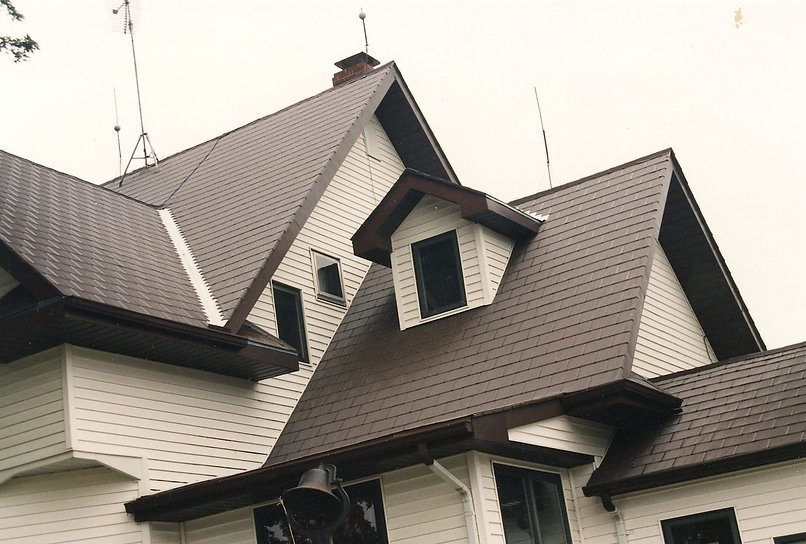 recycled aluminum roofing shingles