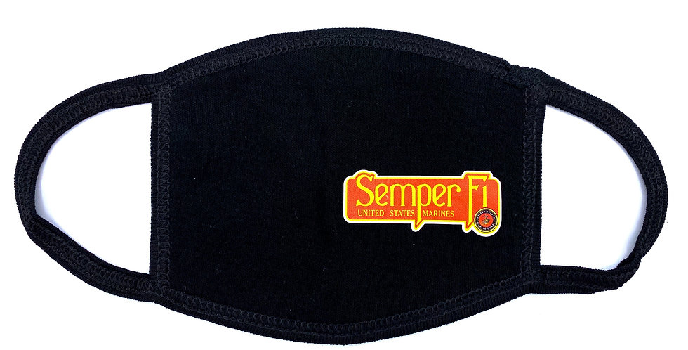 Semper Fi Marines Cloth Mask
