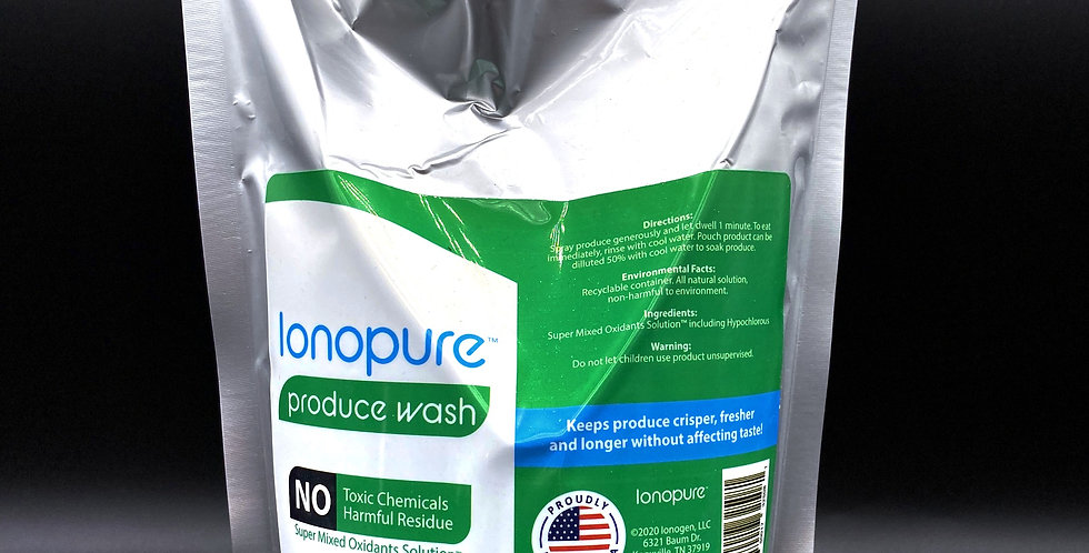 Ionopure Produce Wash - 600 ml (20 oz.) Pouch