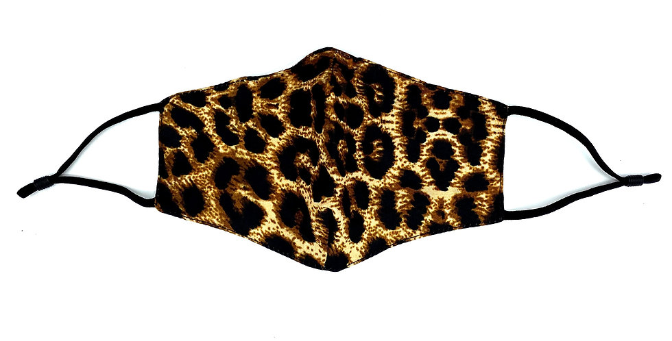 Leopard Pattern Mask with 2 Filters