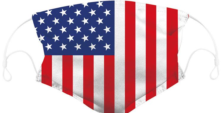 Be Patriotic! Get 3 Cloth Masks + Free Shipping