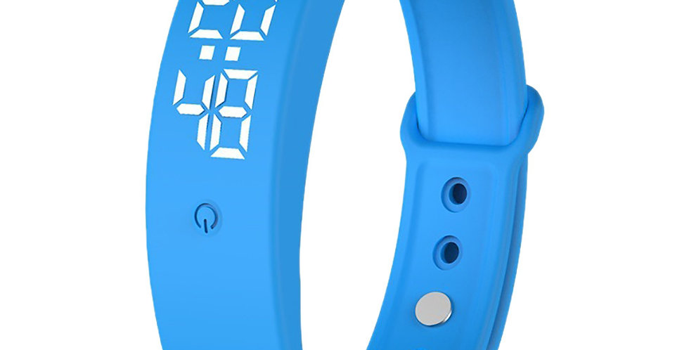 Wearable LED Temperature Alert Device