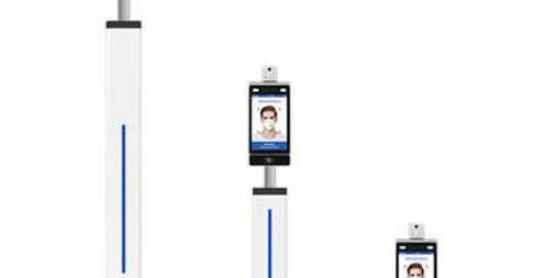 Facial Recognition Body Thermometer (Stand Included)