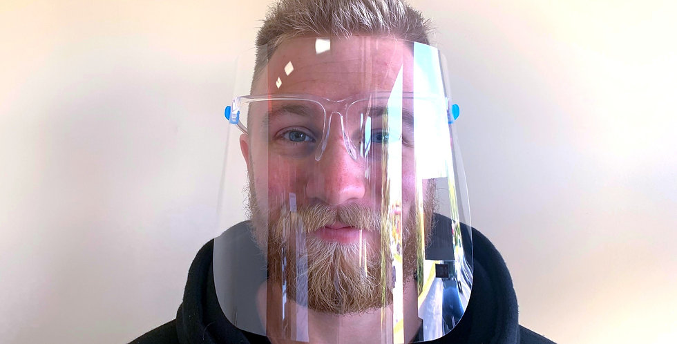 Sunglasses-style Face Shield