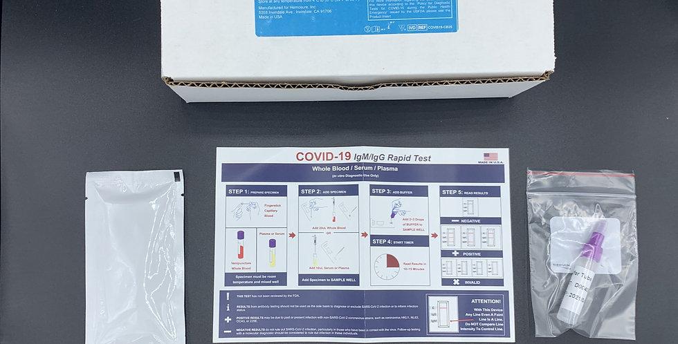 25 Units WHPM Antibody Test Kits