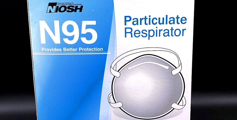 NIOSH N95 Particulate Respirator Dust Mask- FTN 058