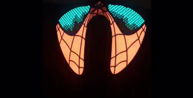 EL Technology Neck Scarf Mask