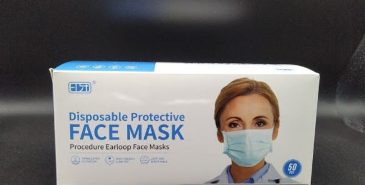 3Ply Mask Level 1 - 50 Pack