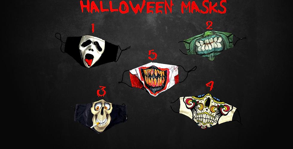 Designer Halloween Masks