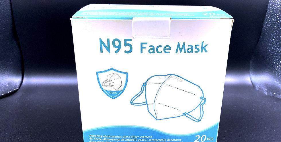 20 Pack - N95 Mask