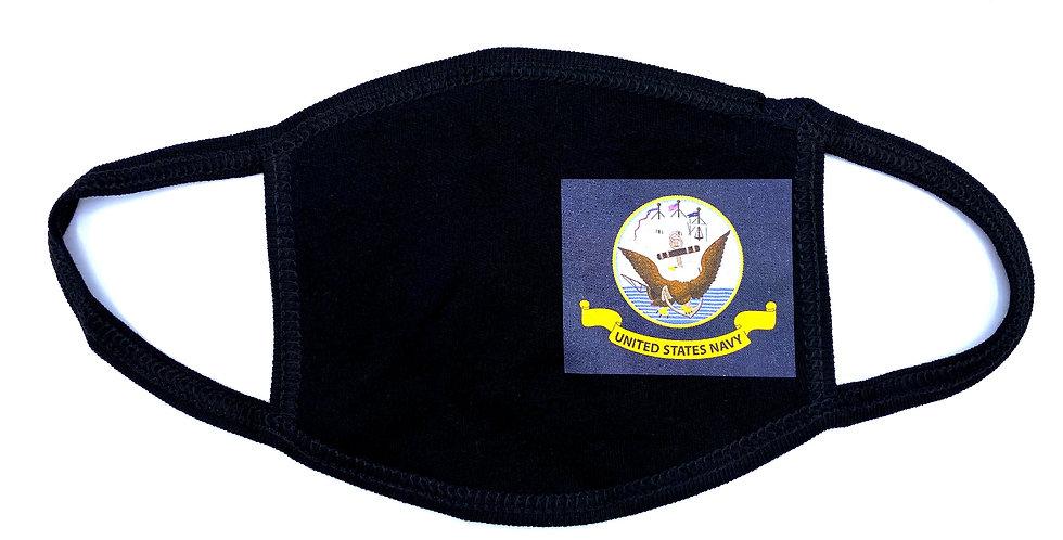 Military Navy Cloth Mask