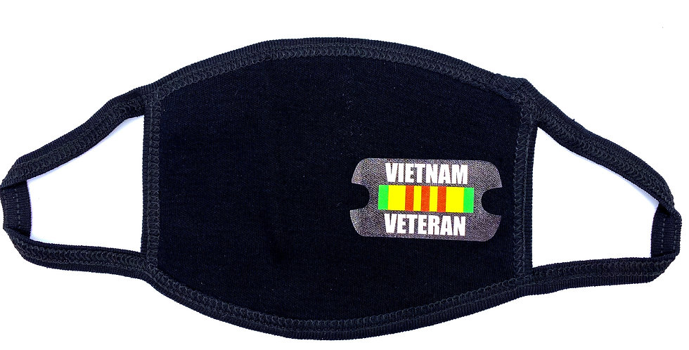 Vietnam Veteran Cloth Mask