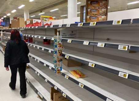 Remember When The Shelves Were Empty?