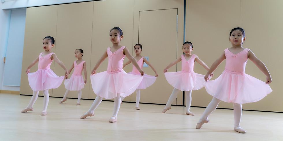 2021年度各級英國皇家芭蕾舞 (RAD)考試課程課程 - 免費試堂