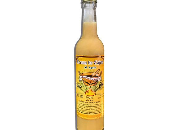 Crema de cajeta al agave 500 ml.