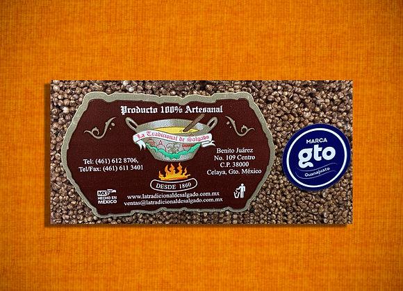 Amaranto barra chocolate.