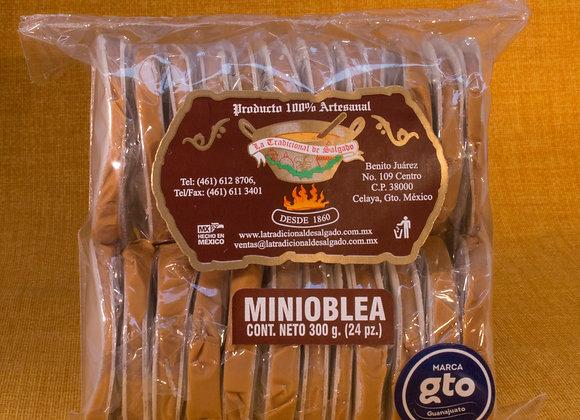 Minioblea Con Cajeta 24 Pzs