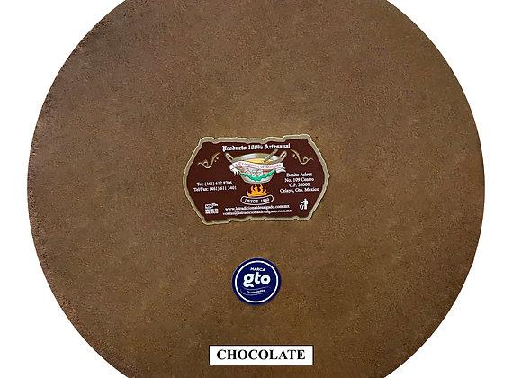 Paquete obleas sabor chocolate.