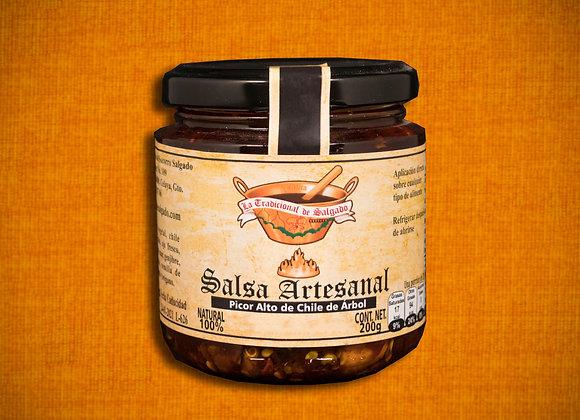 Salsa Chile de Arbol Varios Sabores.