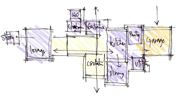 Spacial Planning Sketch