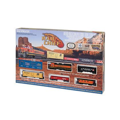 RAIL CHIEF Electric Train Set (HO Scale)
