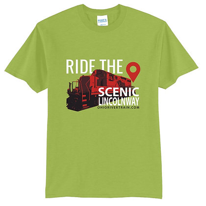 Scenic Lincoln Way – T-shirt (Additional Colors)