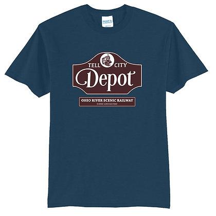 Tell City Depot – T-shirt (All Colors)