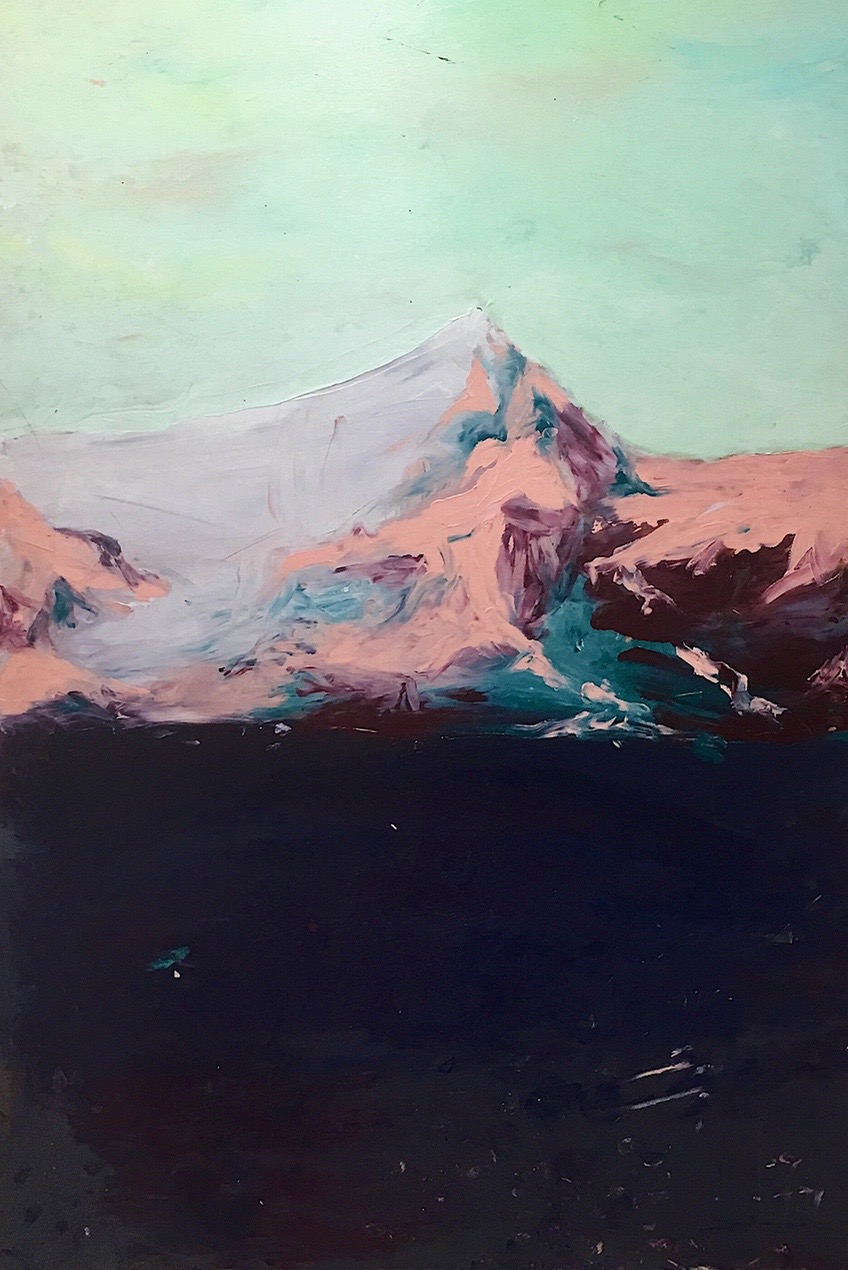 SOLD - Pink Glacier
